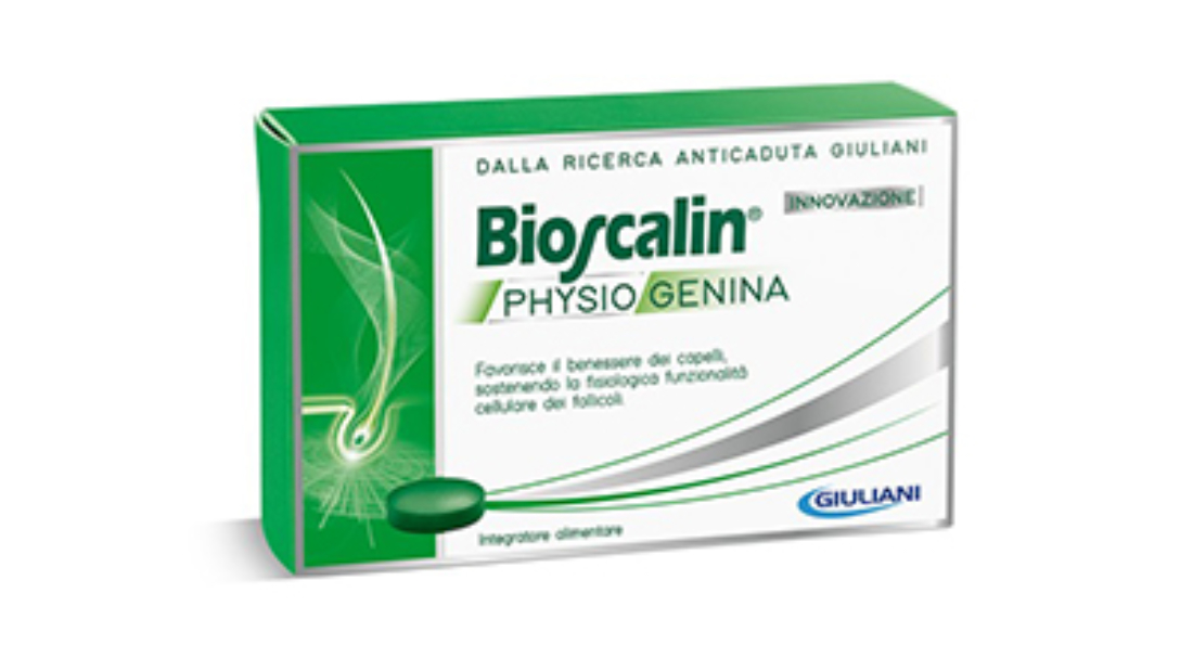 BIOSCALIN Physiogenina 30 cpr uomo e donna