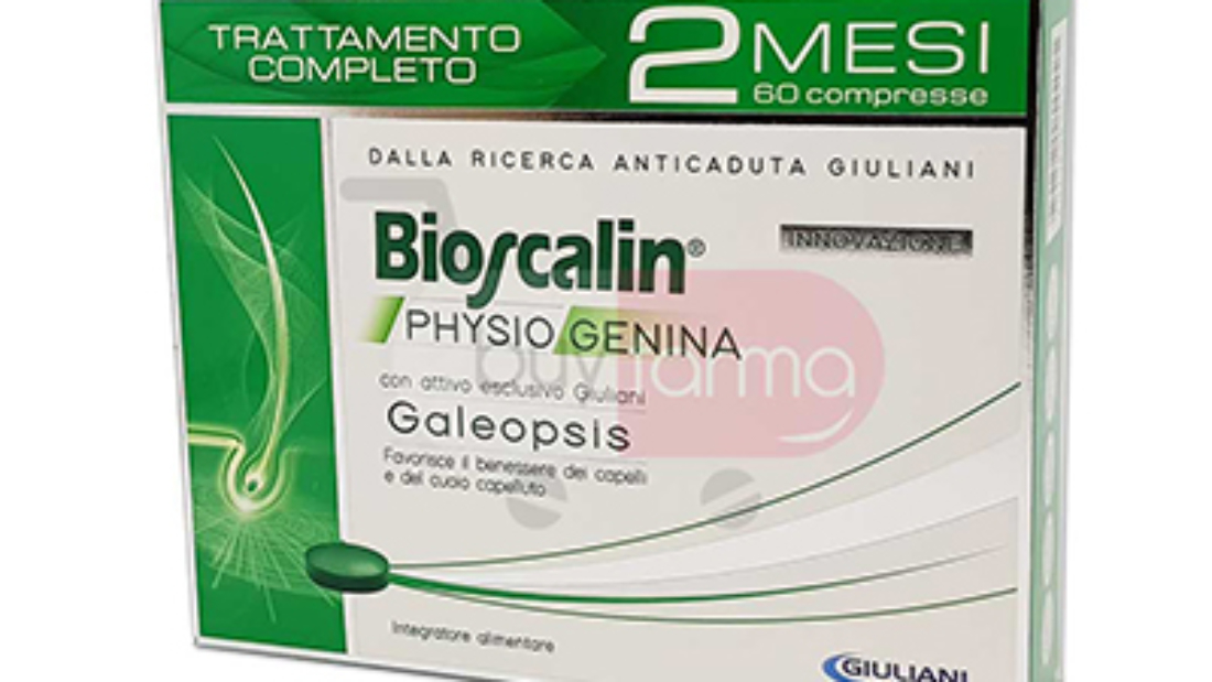 BIOSCALIN Physiogenina 60 cpr uomo e donna