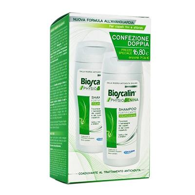 BIOSCALIN Physiogenina shampoo doppio