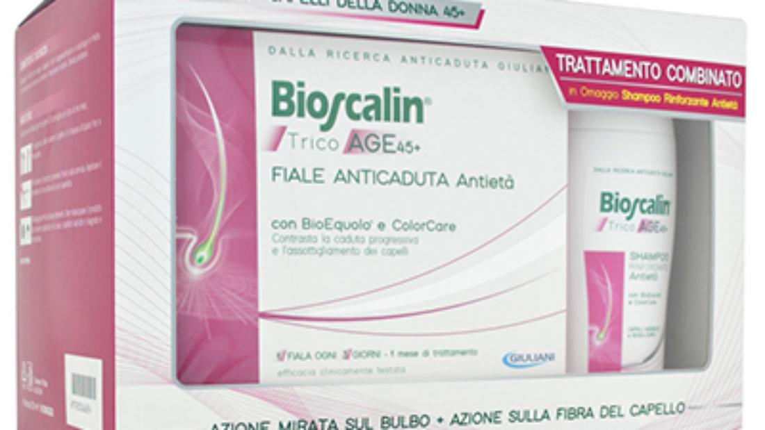 BIOSCALIN TricoAge 45+ fiale donna + shampoo Omaggio